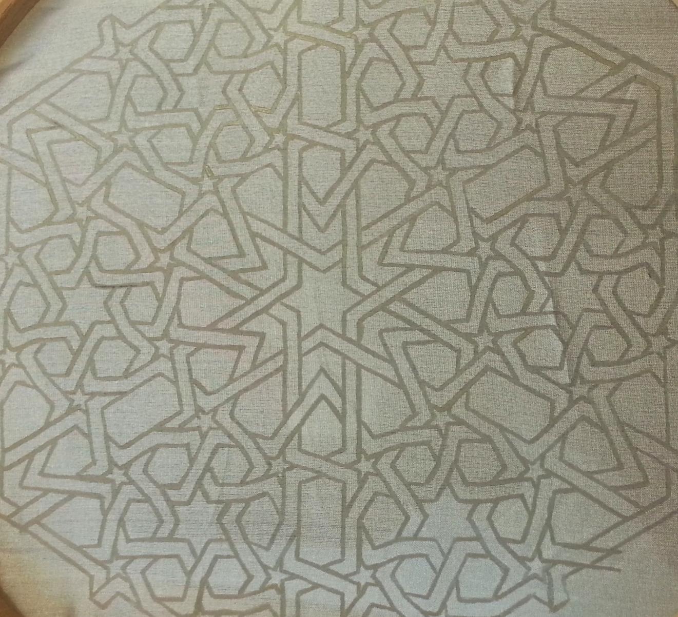 Work in Progress ~ Islamic Art, Geometry, Pattern Design, Shaheen Kasmani