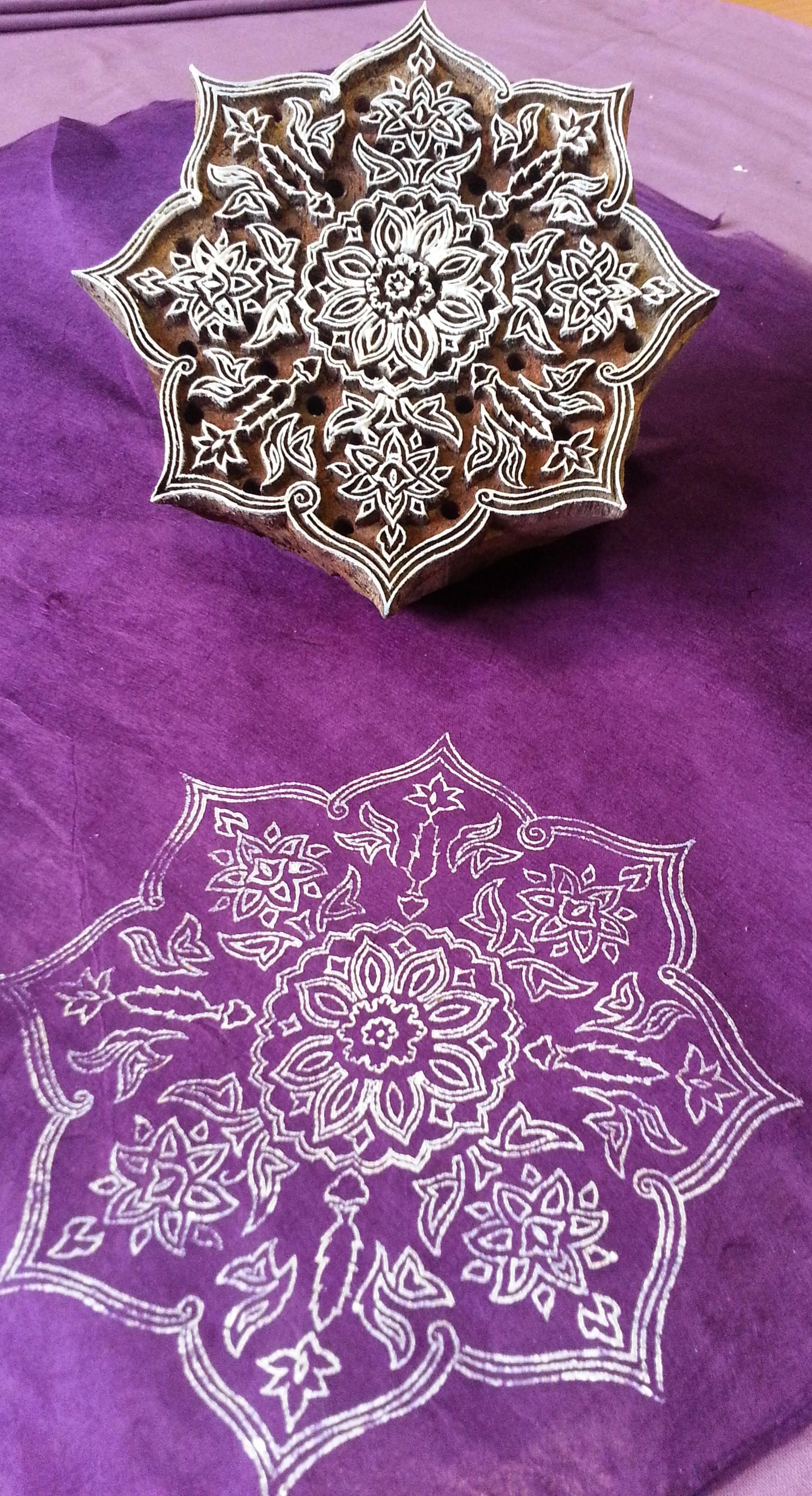 Work in Progress ~ Indian Art, Asian Art, Mughal Art, Islamic Art, Textile Art, Pattern Design, Shaheen Kasmani