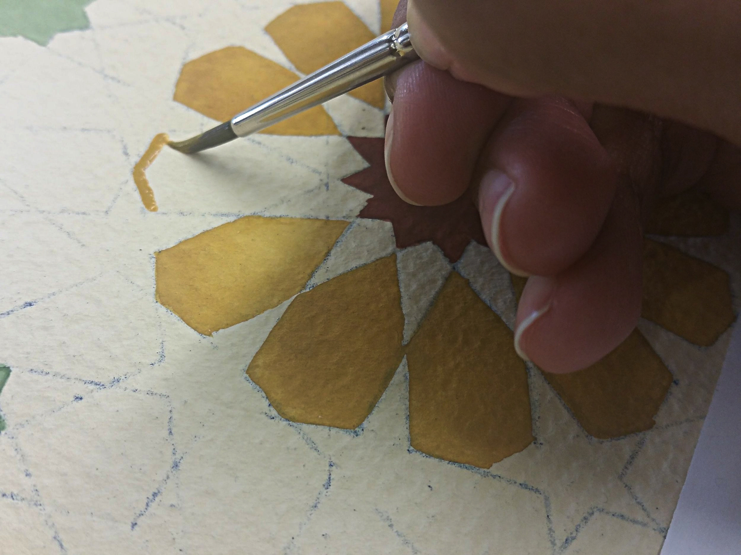 Painting Geometry
