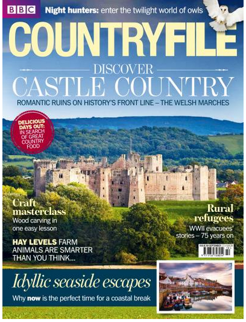 This months Countryfile Cover I shot