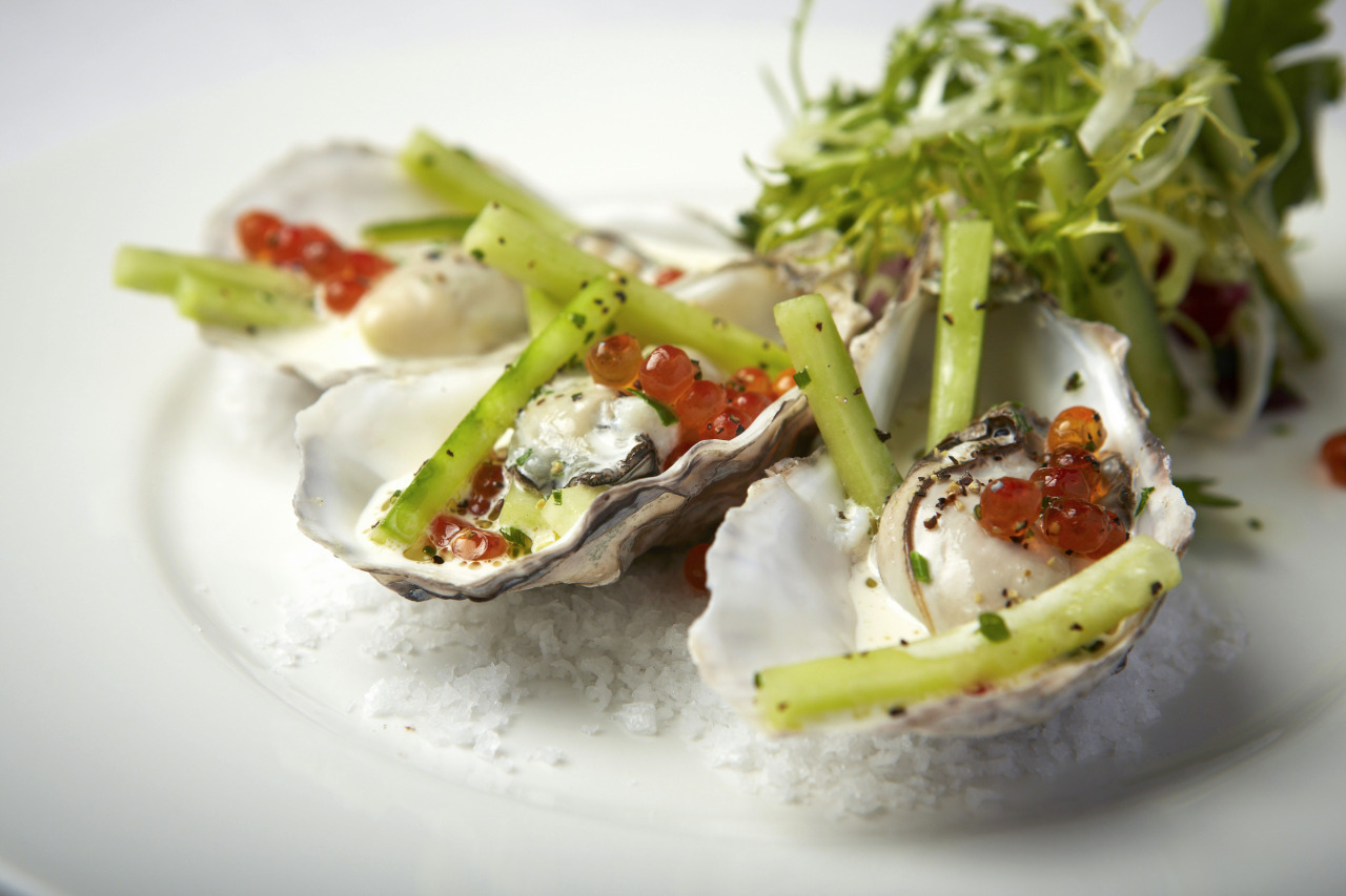 Oysters for a valenstines day menu shoot a while ago