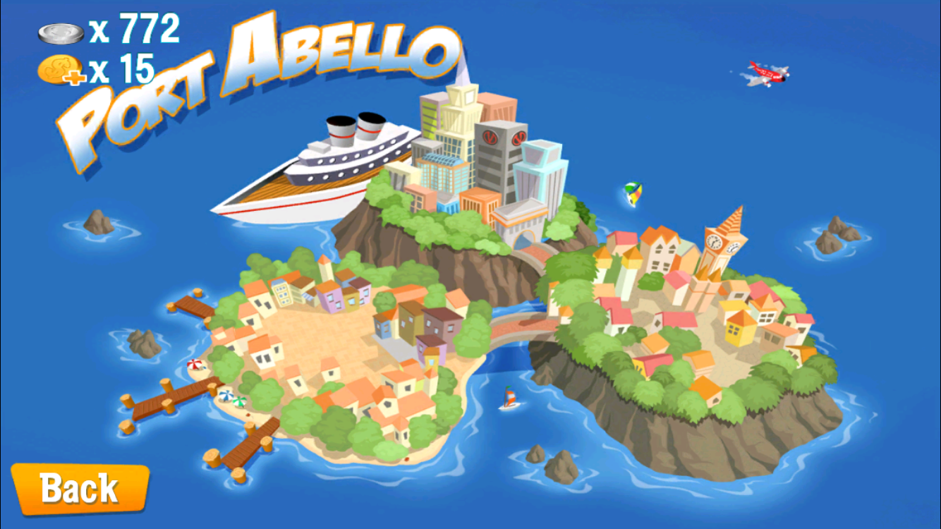 The little world of Port Abello!
