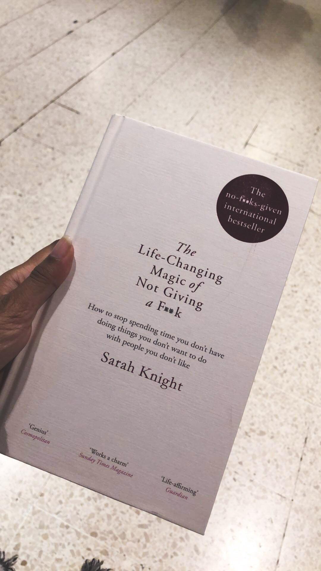 Self-help books to keep me going!