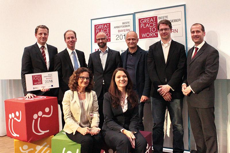 it-economics Team bei der Award-Verleihung in München