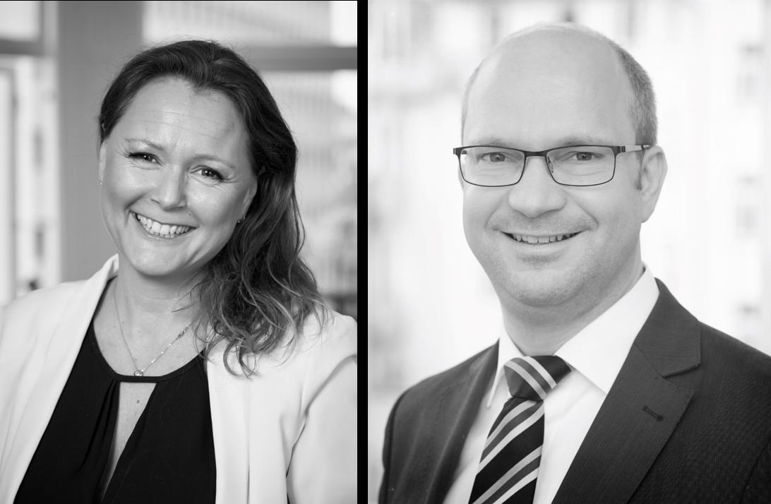 Karen Vlugt, Vice President Sales & Marketing, IBA und Michael Brandtner, Projektmanager bei it-economics