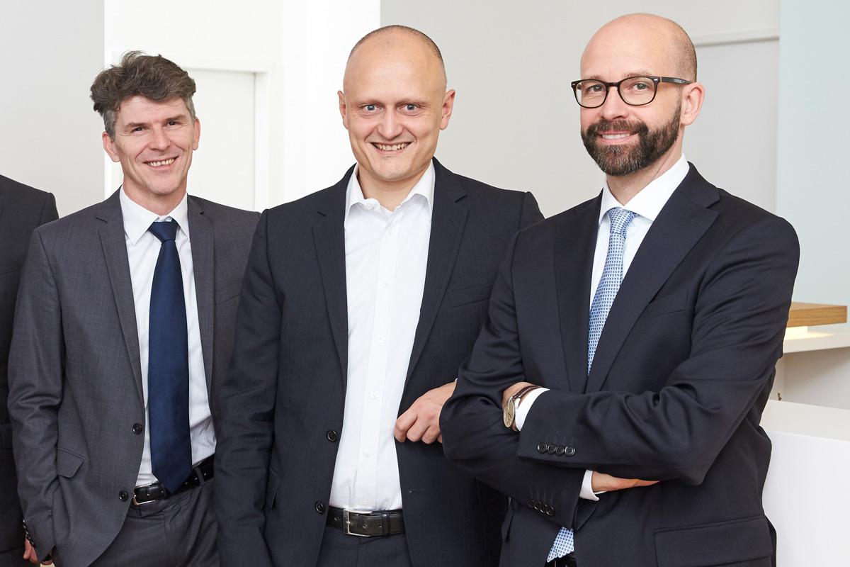 Das Gründerteam: Tobias Fischer, Hardi Probst, Torsten Klein (v.l.n.r.)