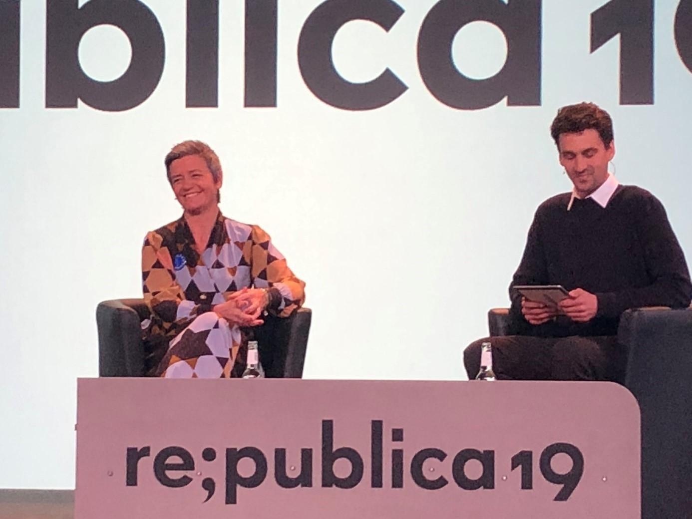 Margrethe Vestager, republica 19