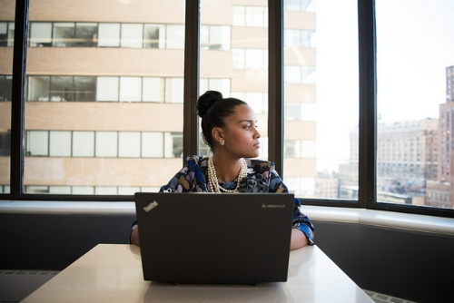 Image: WOC in tech chat