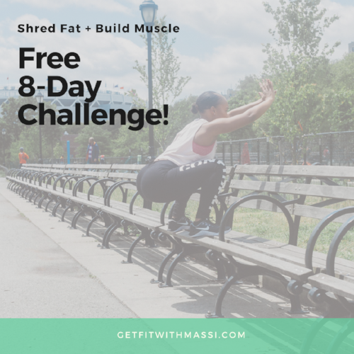 Need a push? - If you're just starting out on your journey and need a road map on exactly what you need to do, Masiel has a free 8-day challenge that can help you. Click on the link to sign up: bit.ly/8dayfitness