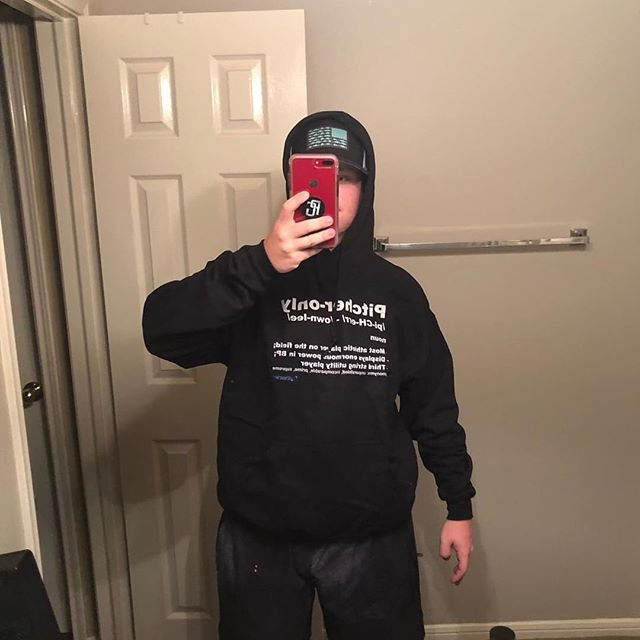 @coop.peece rocking the PO Hoodie 🙌🏾 - Cop yours today!