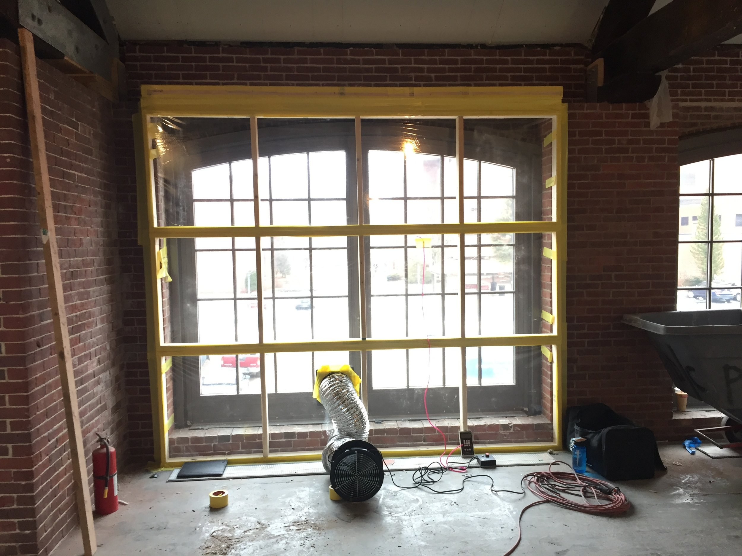 Window Water Tightness Testing