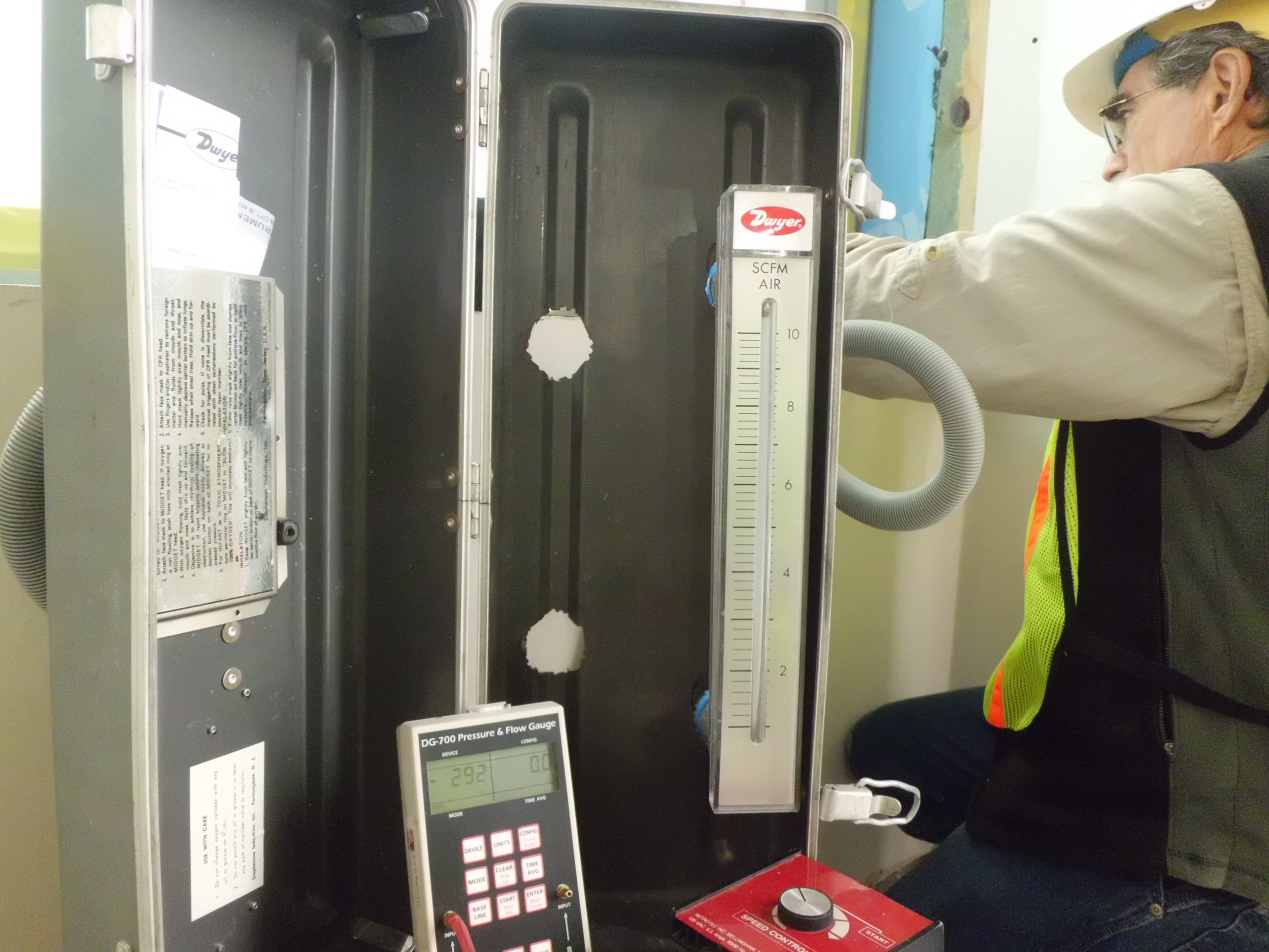 Window Air Tightness Testing
