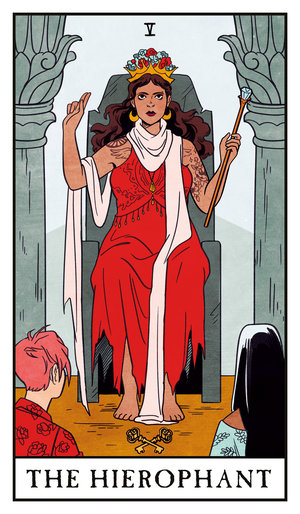 We Talked To Lisa Sterle About The Amazing Modern Witch Tarot The Mary Sue