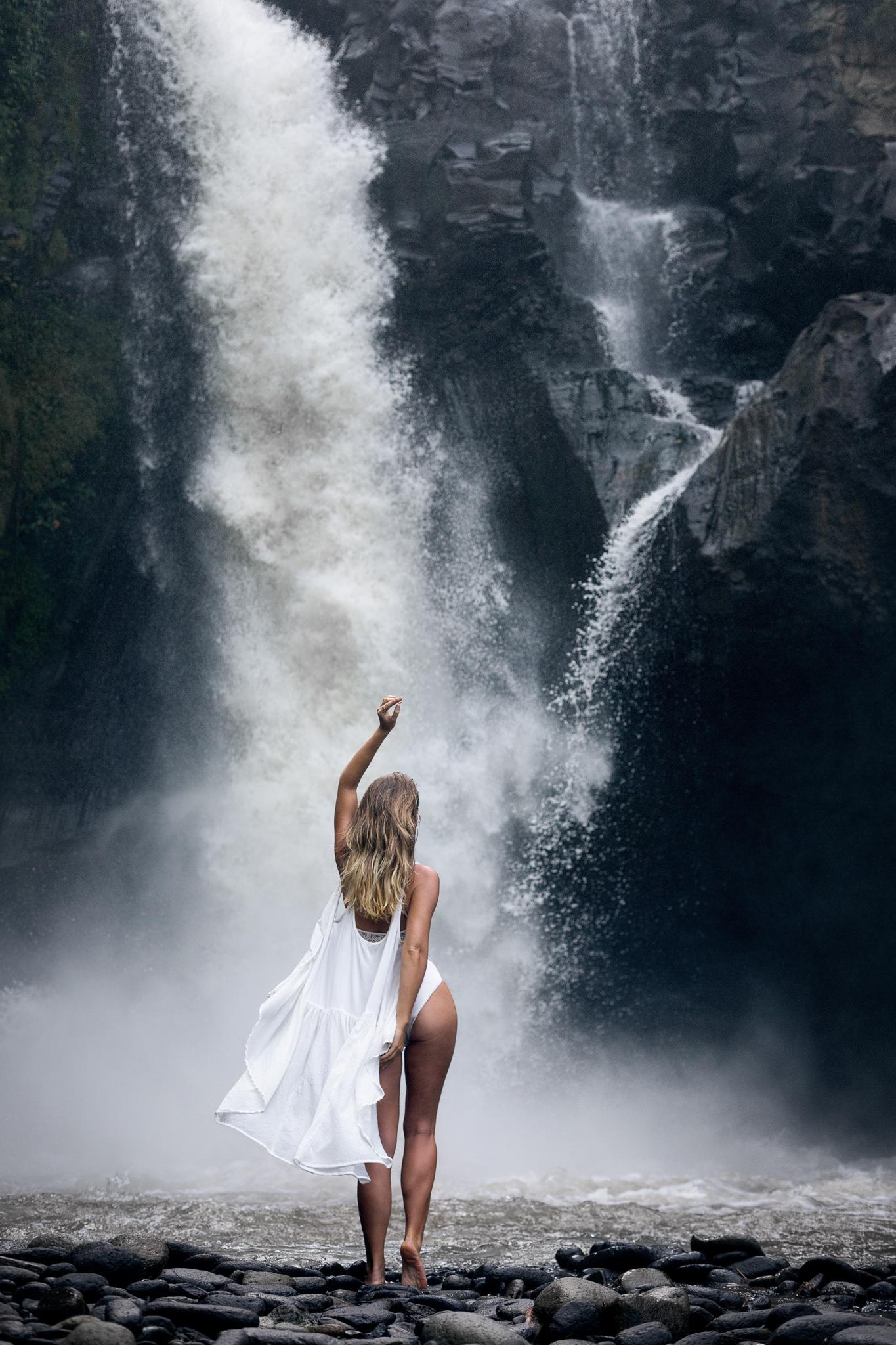 Fine Art Porträt Wasserfalls Outdoor