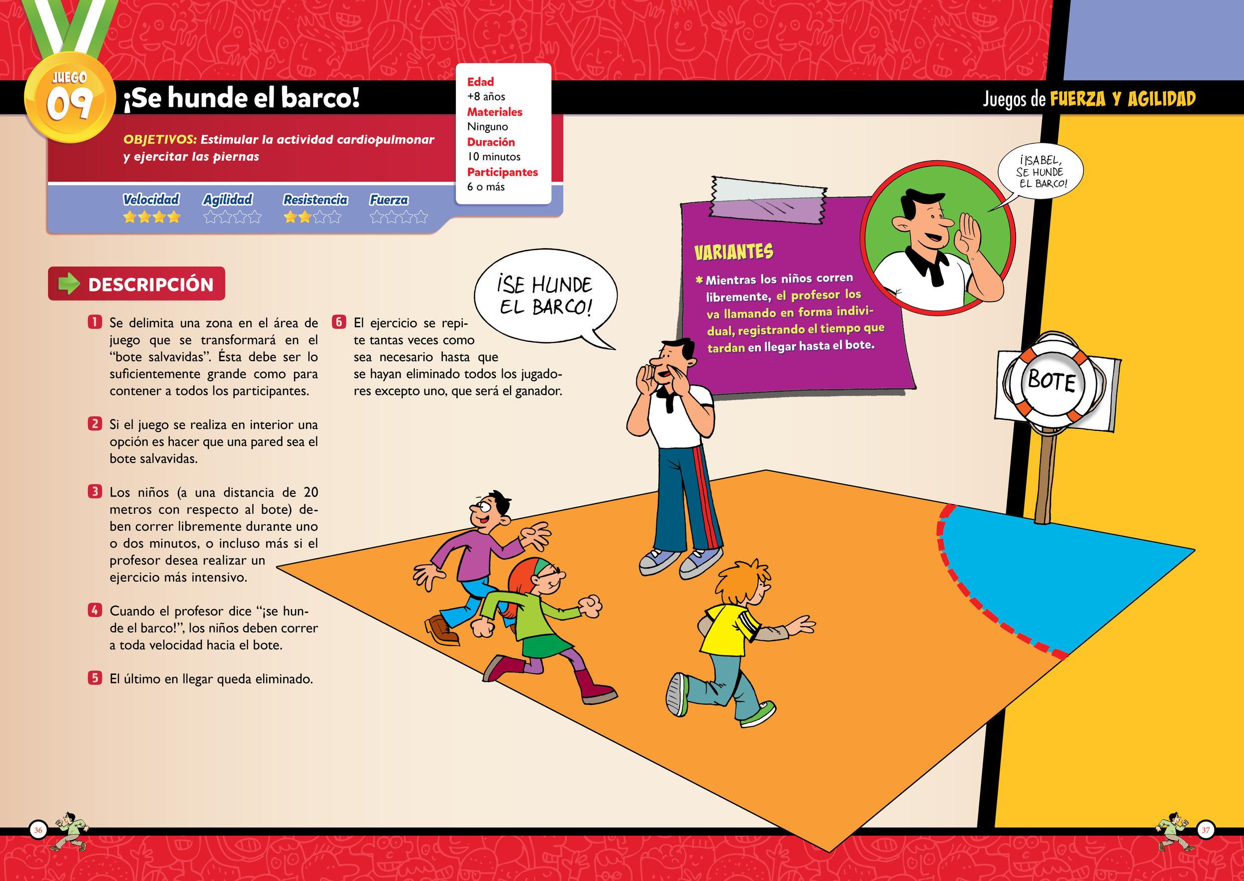 Juegos De Educacion Fisica Para Niños De Primaria Niños Creativos