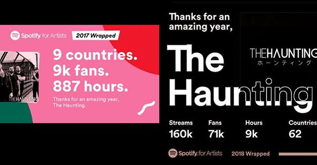 From 2017 to now. You have made this year incredible for us, and we're eternally grateful.  Our last single will be released on 12/14. We're taking an extra week to put together something extra special for you. ❤️