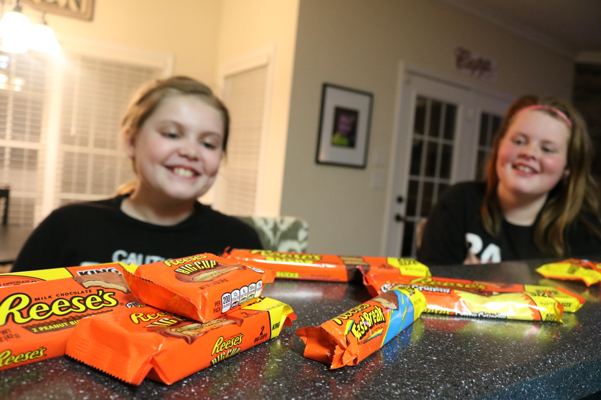 We brought these two every Reese's ever made!