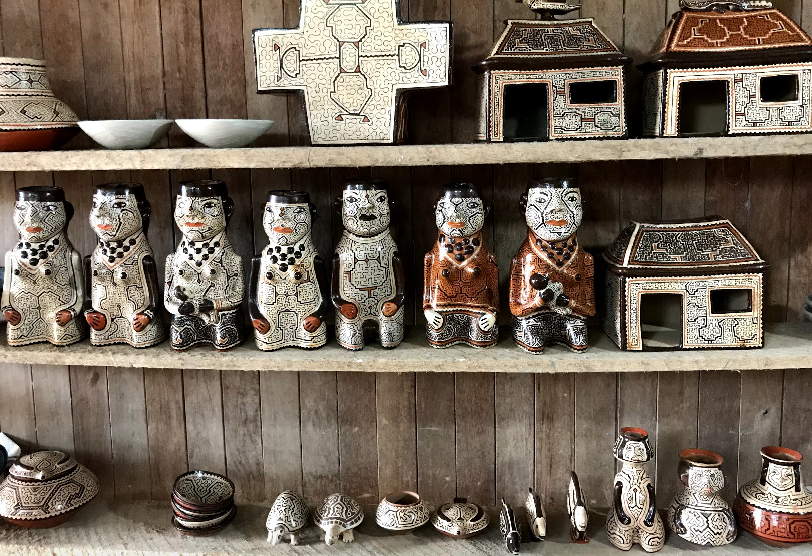 Some of the beautiful creations! There is such diversity in the items made, but all are so unique and different. I love how all of them are hand-made, showcasing the craft required to make the ceramics.