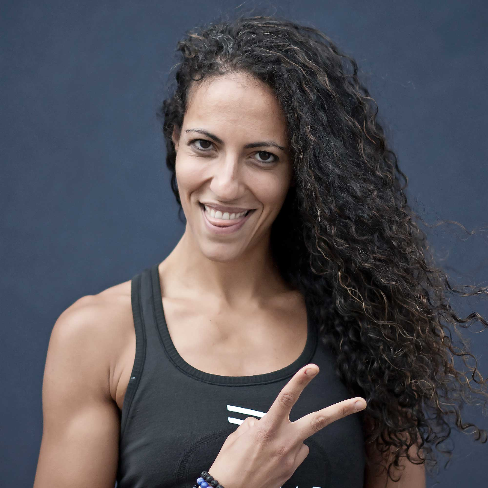 Photo of UNDRCARD Boxing Instructor, Shaima, by Jess Bobyn