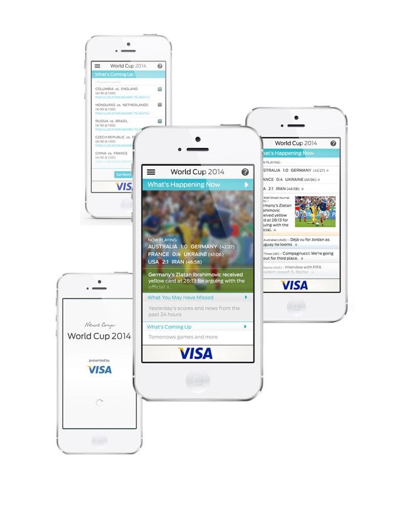 Visa - Newscorp World Cup 2014