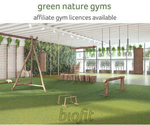 biofit biophilic gym design nature gym licenses