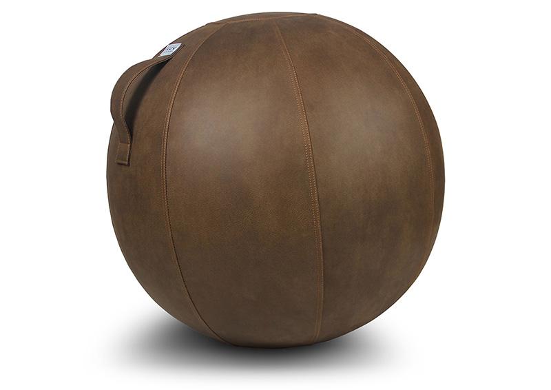VLUX mocha brown swiss ball.jpg