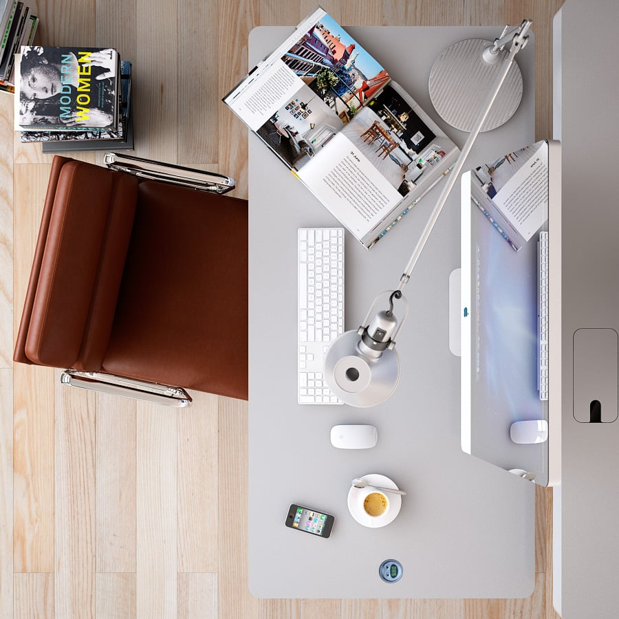 Workspace-Style-For-Modern-Home-Office-Style-Scheme-Escorted-By-Computer-Table-Style-Escorted-By-Table-Lamp-Escorted-By-Brown-Office.jpg
