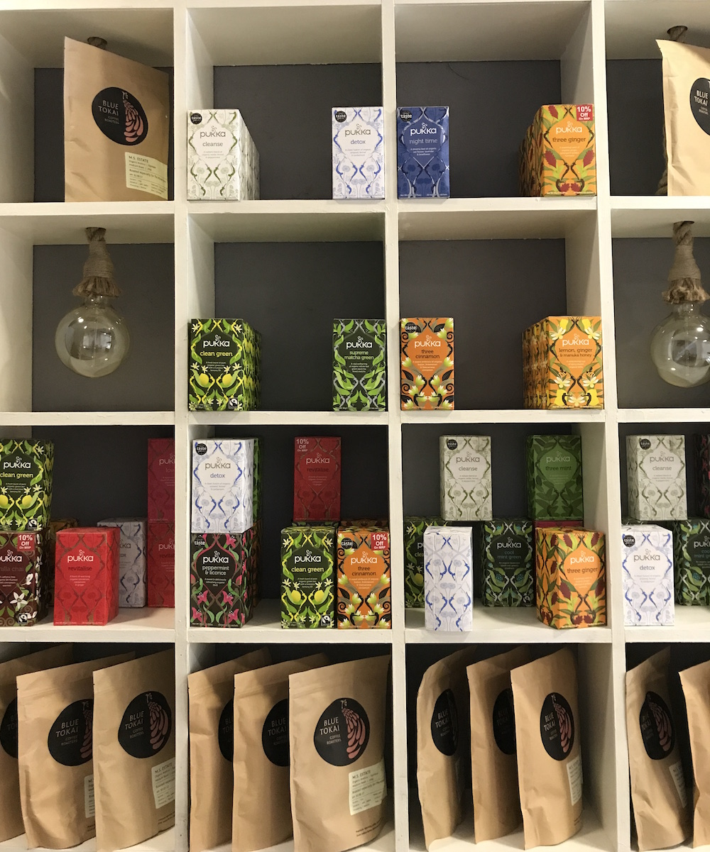 Tea, coffee and much more to buy