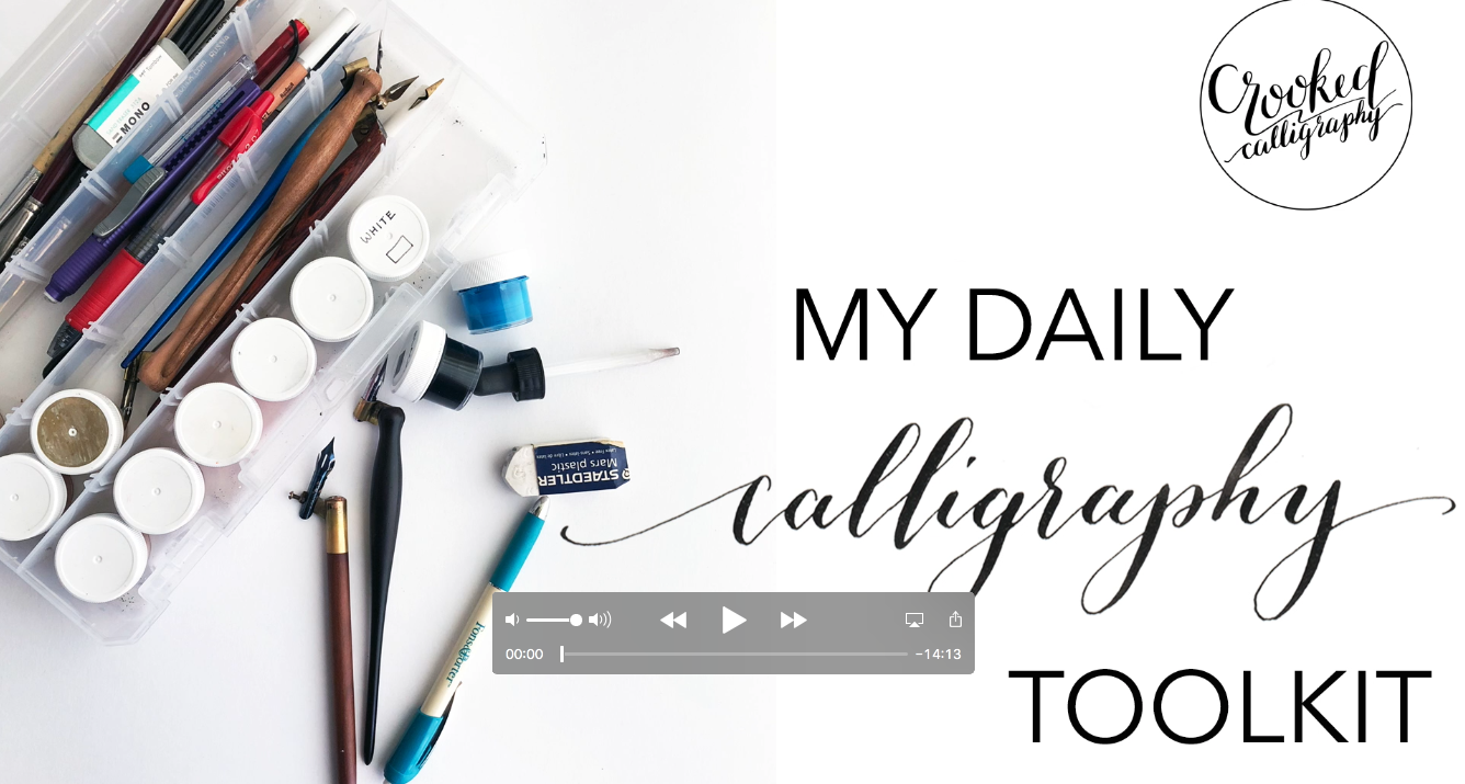 Calligraphy Toolkit YouTube Video