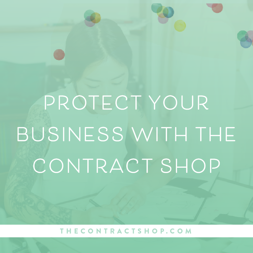 The Contract Shop protect your business