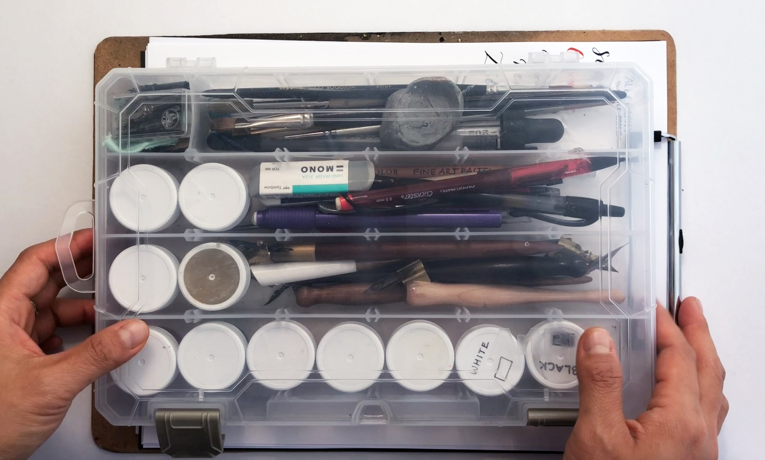 Arbin Storage for Pointed Pen Calligraphy Tools