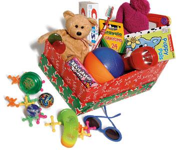 christmas shoebox