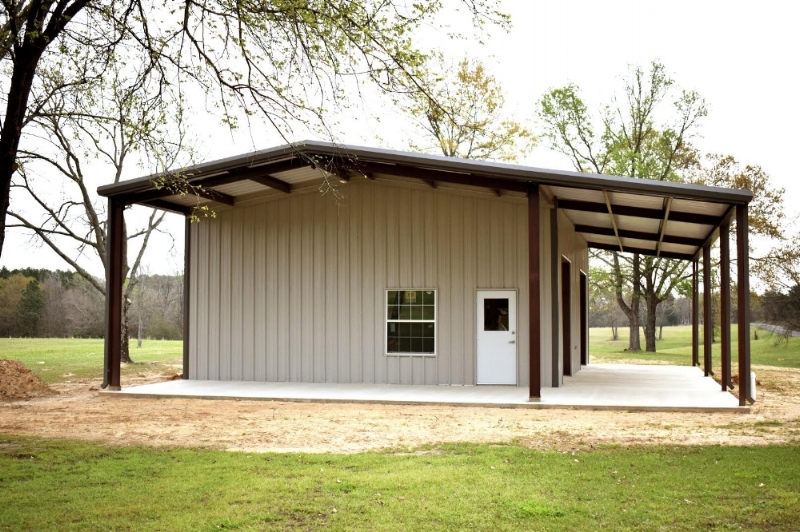 steel building for shop and mancave