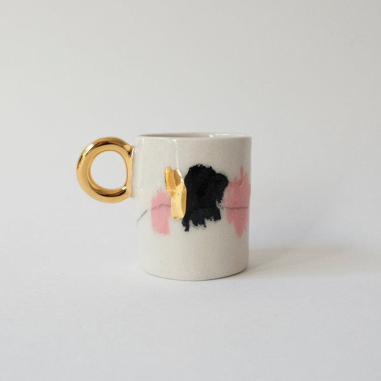 Multi Ring Espresso Cup