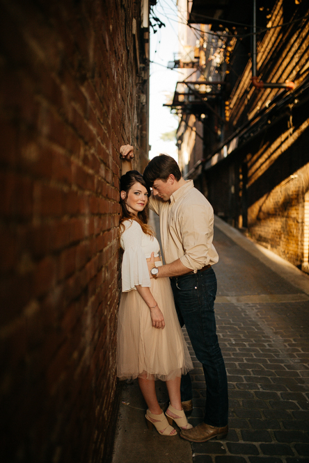 Emily + Jacob Photography | A Modern Urban Engagement in Downtown Memphis | Memphis Tennessee Wedding Photographer | memphis-tennessee-wedding-photographer-modern-urban-engagement-rachelandryan