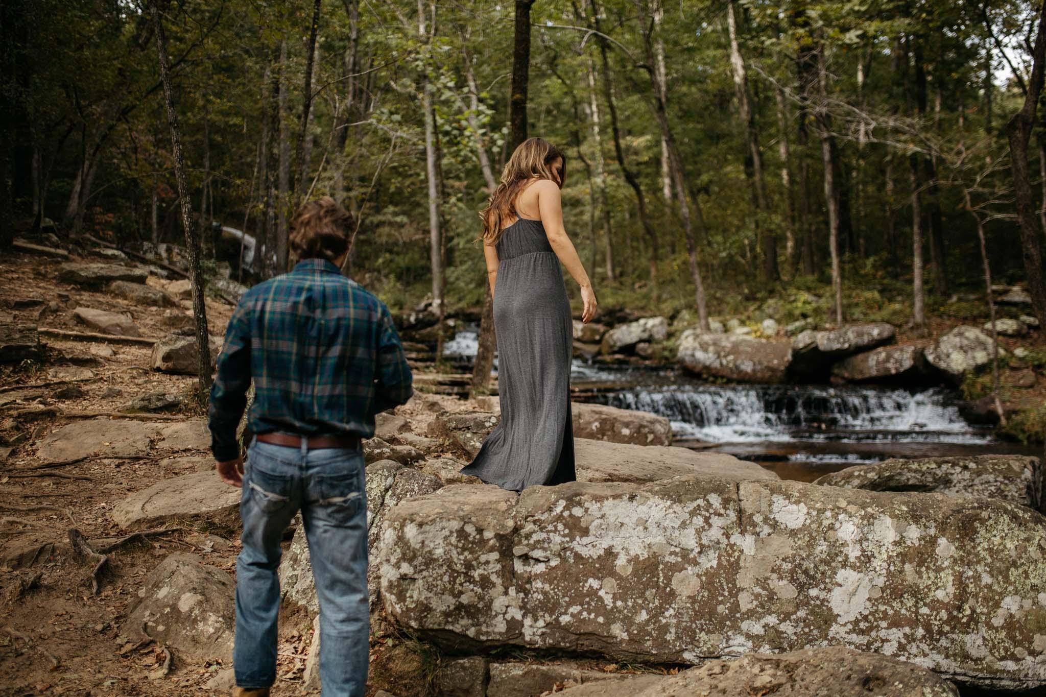 The Hatches | Hayley & Zach | Adventure Engagement Session | Heber Springs, Arkansas | Wedding + Elopement Photographers | heber-springs-arkansas-engagement-wedding-elopement-waterfalls-mountains-adventurous-couple-unique-intimate-lifestyle-nature-woodland-romance-utah-colorado-arizona-washington-memphis-tennessee-wedding-photographers