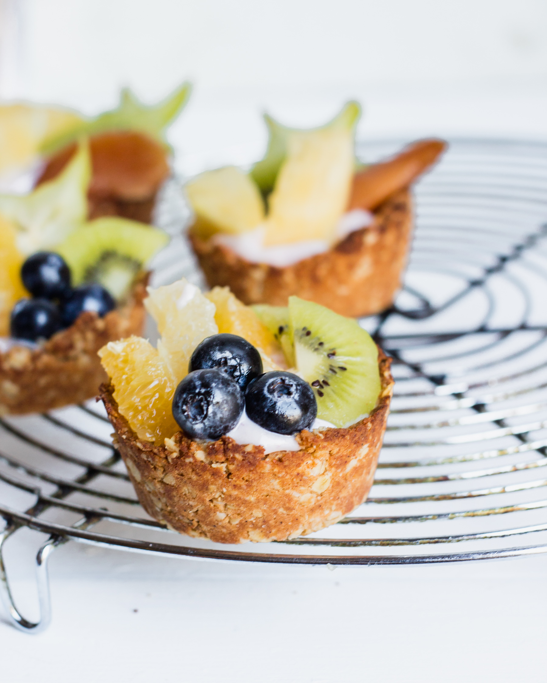 Coconut Crusted Parfait Cups
