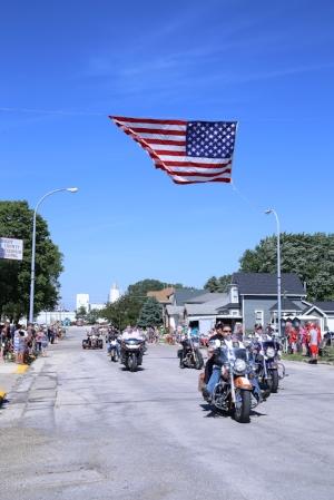Parade on Saturday morning