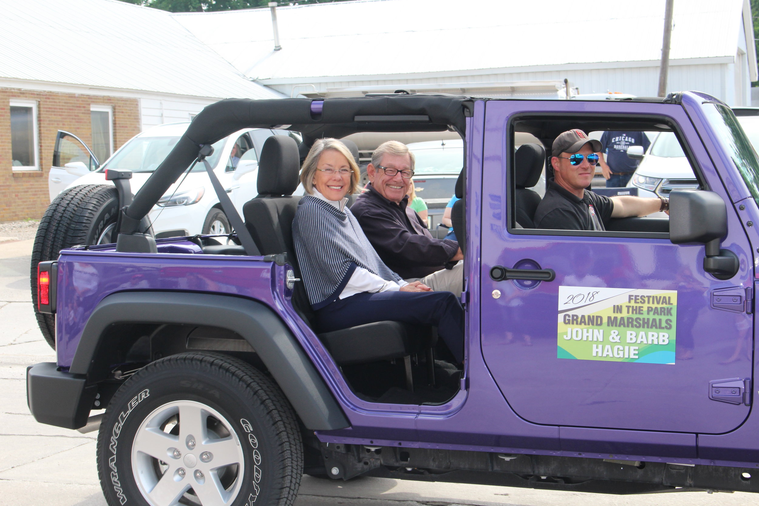 Grand Marshals in the Festival in the Park 2018 Parade