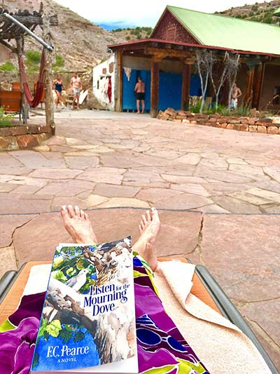 Photo courtesy of Jayne Cotten at Ojo Caliente, N.M.  THINK READING!