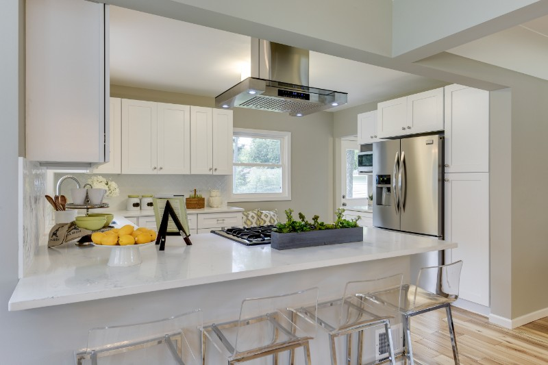 Kitchen interior design remodel by Tiffany Hanken Design in Minneapolis