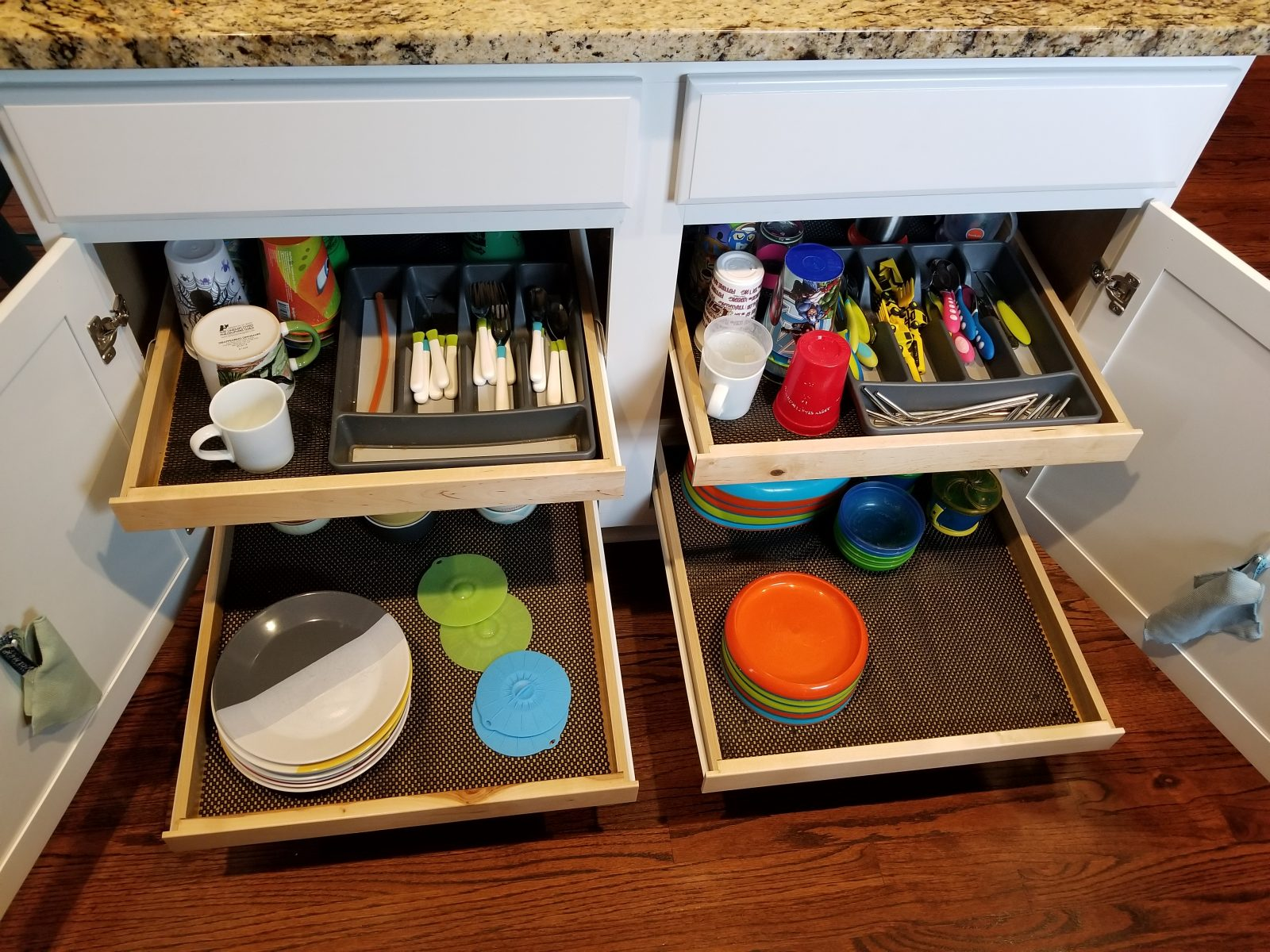 Accessible common kitchen items make your kids more independant.