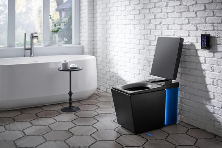Comfort, convenience and a bit of the future with Kohler's smart toilet.