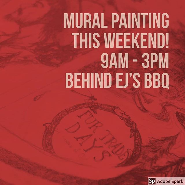 Chadron Art Alley will be at it again this weekend painting Ej's BBQ! Saturday & Sunday 9am - 3pm. Volunteer artists, young and old, please join us! #Art #Mural #PublicArt #ChadronMade #PaintTheTown #StreetArt #community