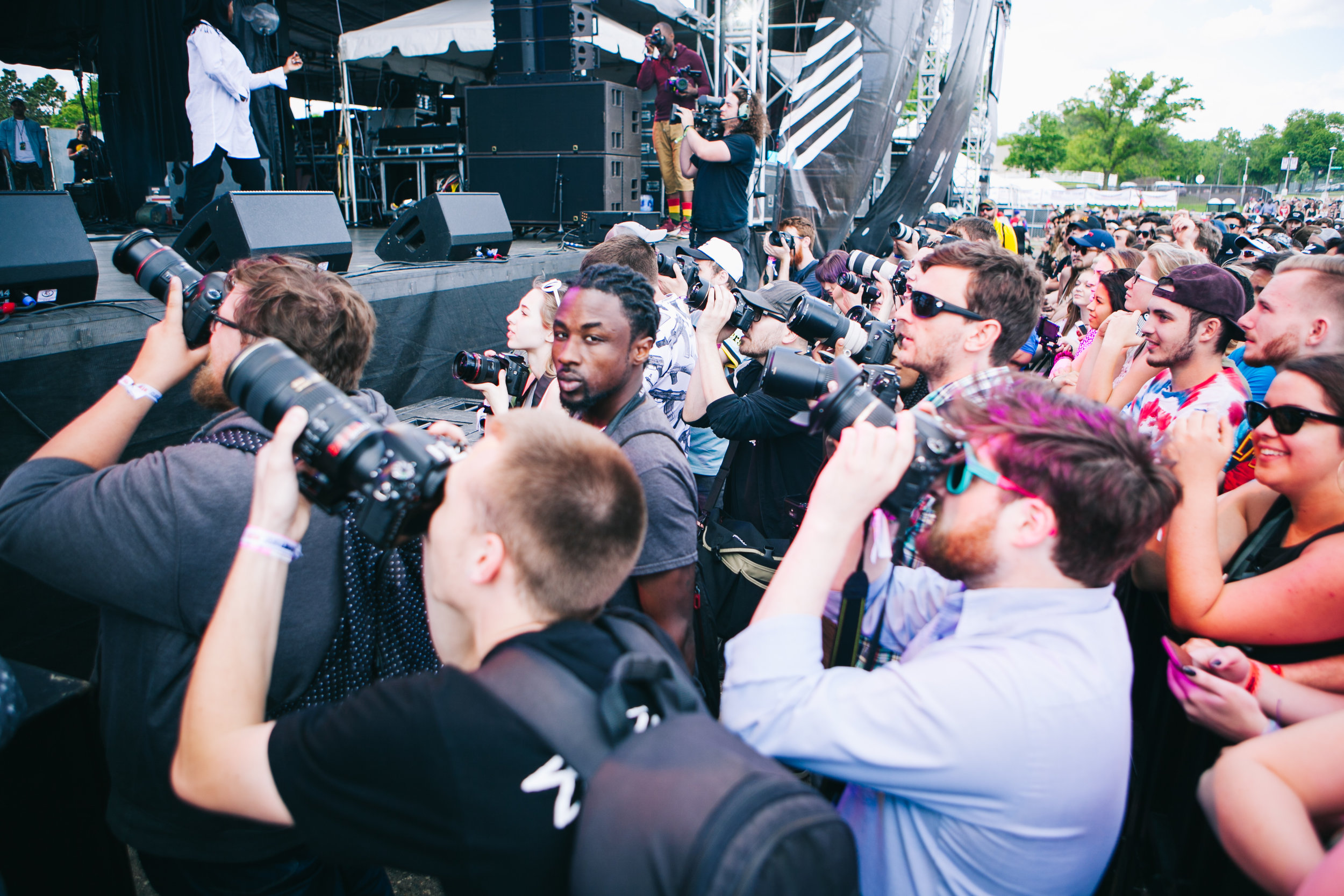 Madness in the Photo Pit