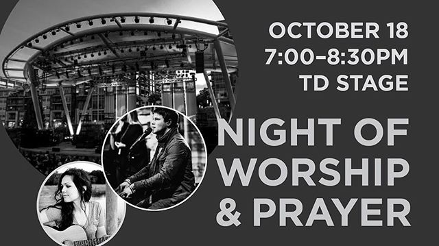 This is happening tomorrow night!  Finally!  www.firstpresnightofworship.com