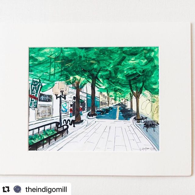 The big giveaway from @theindigomill is live! I love my town and this painting, so follow the instructions below so you can get one! #Repost @theindigomill with @make_repost ・・・ We are so excited we can barely stand it! It's Black Friday and we have the best deal around: we are giving away one of these beautiful 8x10 hand painted Main Street scenes of downtown Greenville. This is the perfect gift for anyone who loves #yeahthatgreenville as much as we do!  TO ENTER: *follow @theindigomill *like this post *tag 2 friends ⠀⠀⠀⠀⠀⠀⠀⠀⠀ For a BONUS ENTRY, share this on your on feed and send us a screenshot showing us your share! Winner will be announced on this post Sunday night at 8pm. GOOD LUCK! ⠀⠀⠀⠀⠀⠀⠀⠀⠀ 📸:@markiewalden #yeahthatgreenville #flashesofdelight #dailydoseofpaper #fortheloveofpaper #pursuepretty #flourishforum #southernwedding #weddingstationery #communityovercompetition #shoplocalgville #thatsdarling #paperlove #blackfriday2018
