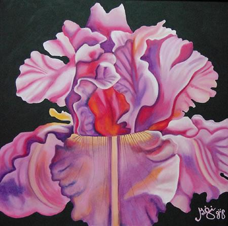 Entourage Original Painting