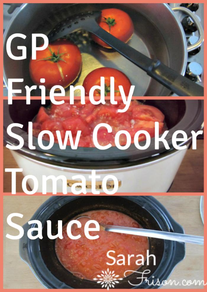 gp-friendly tomato sauce