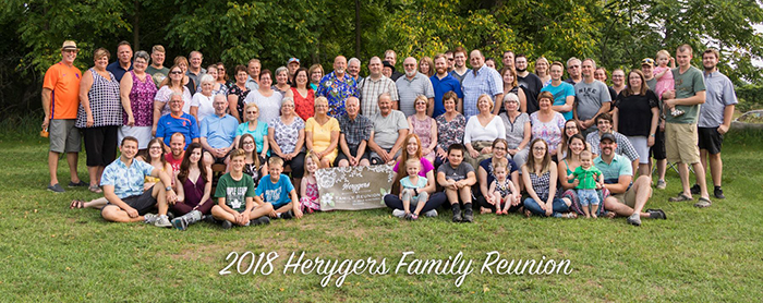 2018 Herygers Family Reunion - Strathroy, Ontario, Canada (Photo:  Anthony Herygers )